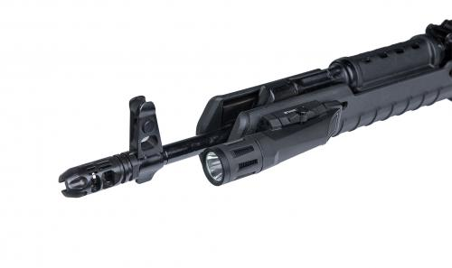 Inforce WMLx 800 lm Weaponlight. The light clips on with ease and doesn't take much space.