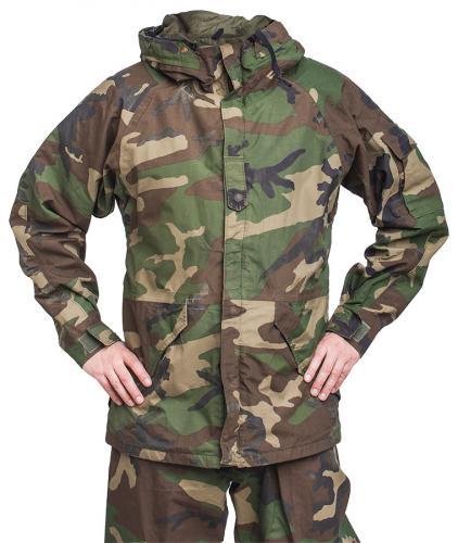 US ECWCS jacket, Gore-Tex, Woodland, surplus