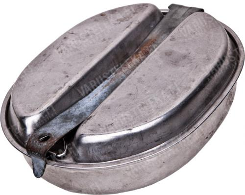 US M1942 mess kit, WW2-dated, surplus