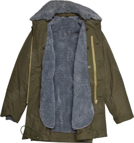 Czech parka with liner, olive green, surplus. Just look at that warm embrace the parka is gonna give you.