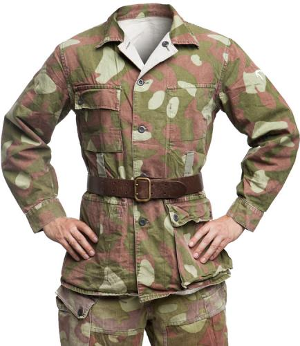Finnish M62 camouflage jacket, surplus