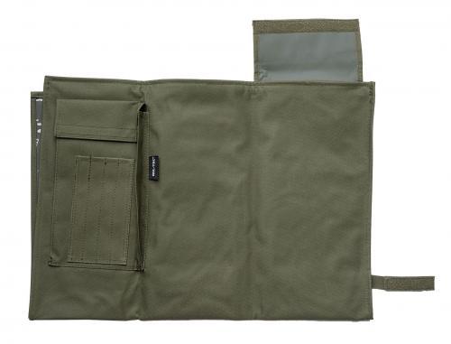 Mil-Tec foldable map case, BW-model, olive drab