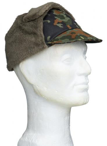 BW field cap, cold weather, Flecktarn, surplus