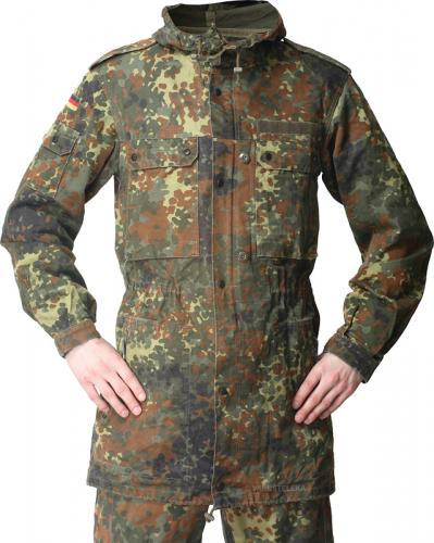 BW parka, Flecktarn, surplus
