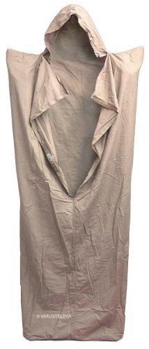 British sleeping bag liner, khaki, used