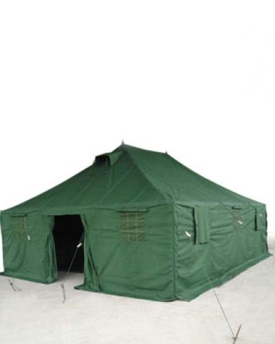 Large tent, 500 x 600 x 320 cm, with accessories