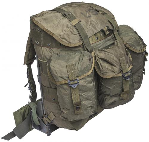 US ALICE Medium Pack, with frame, olive drab, surplus