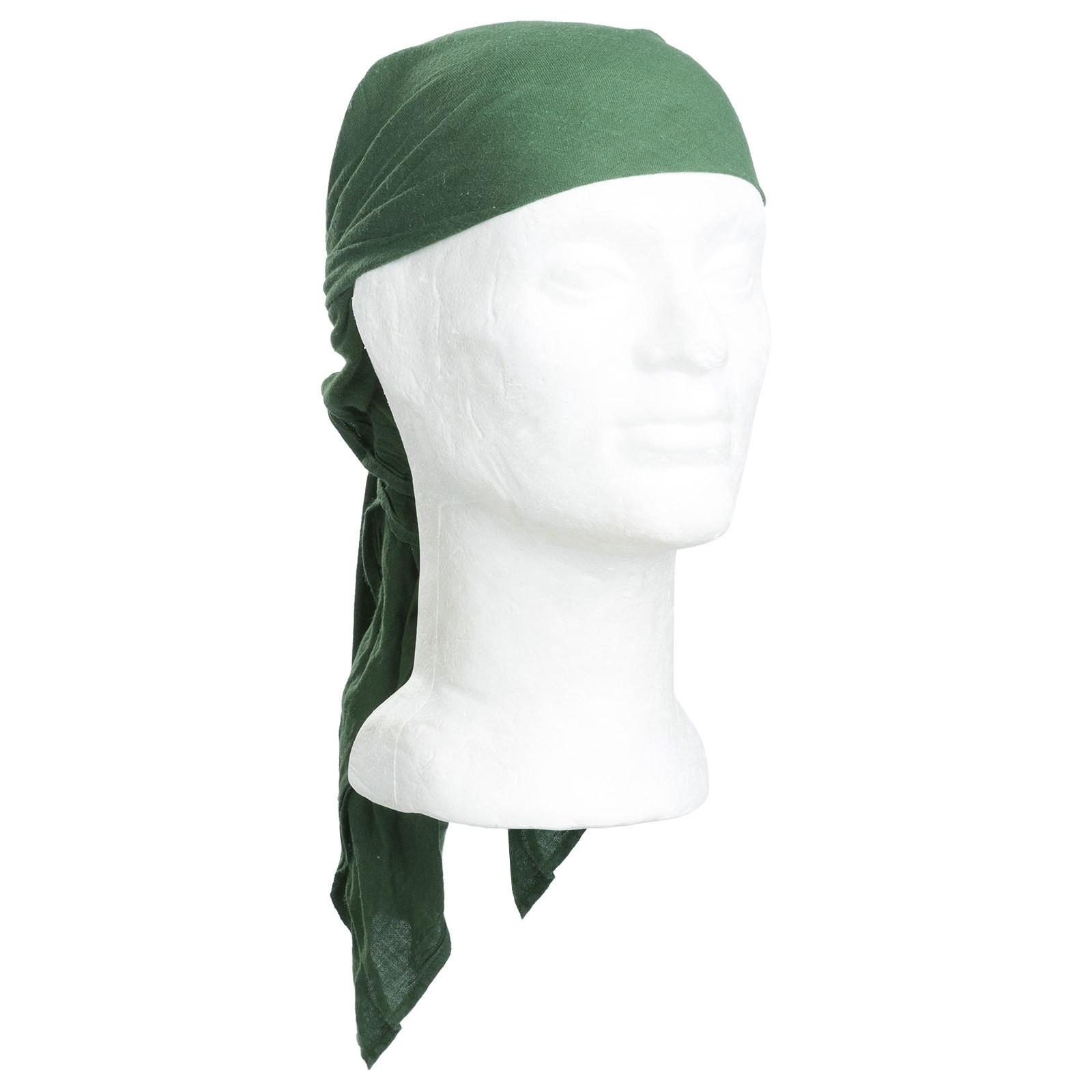 """Genuine Unissued Czech Army Olive Green Bandana Military Neckerchief 46/"""" x 31/"""""""