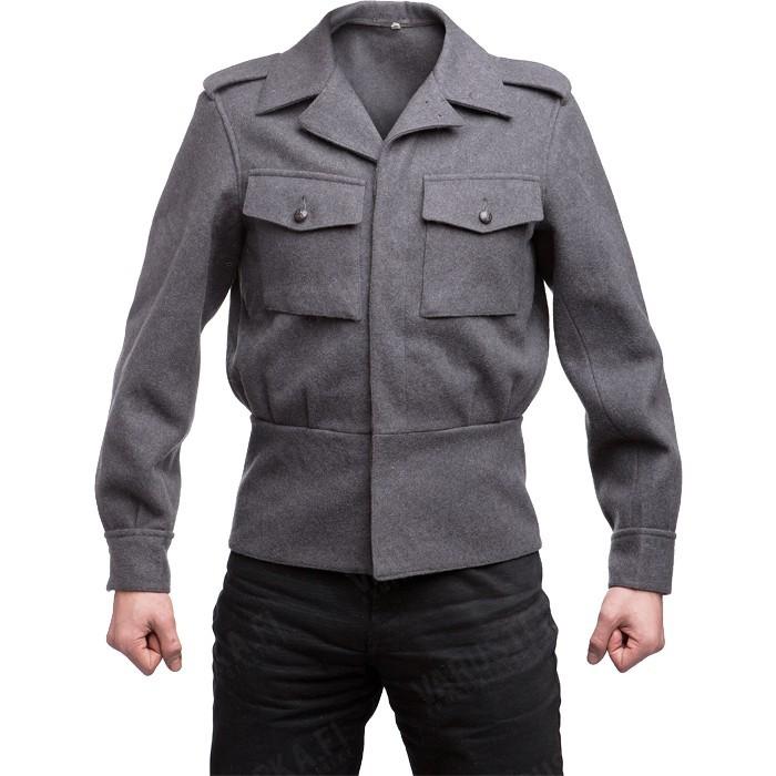 Finnish M65 wool jacket, gray, surplus - Varusteleka.com