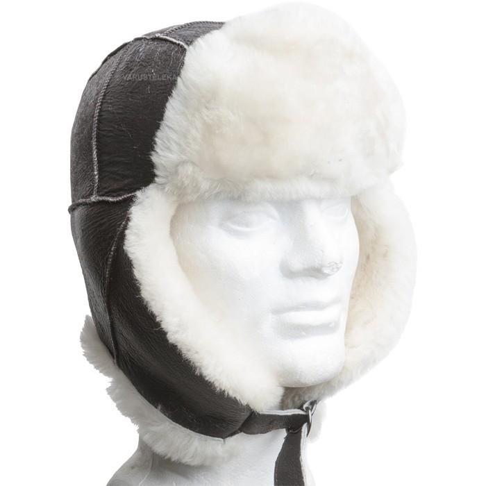USAF leather fur hat B-3 b8f2fd15b9