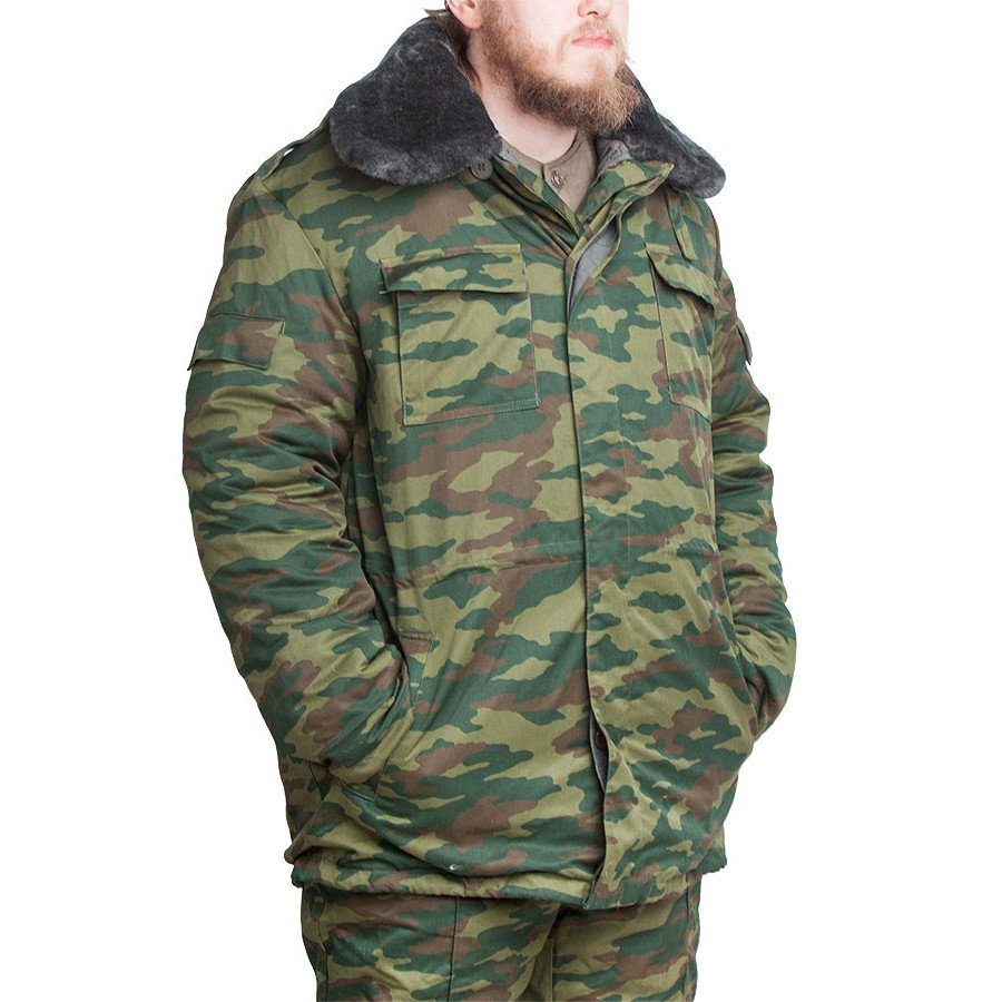 Russian winter jacket with detachable liner 27a5f26ce5db