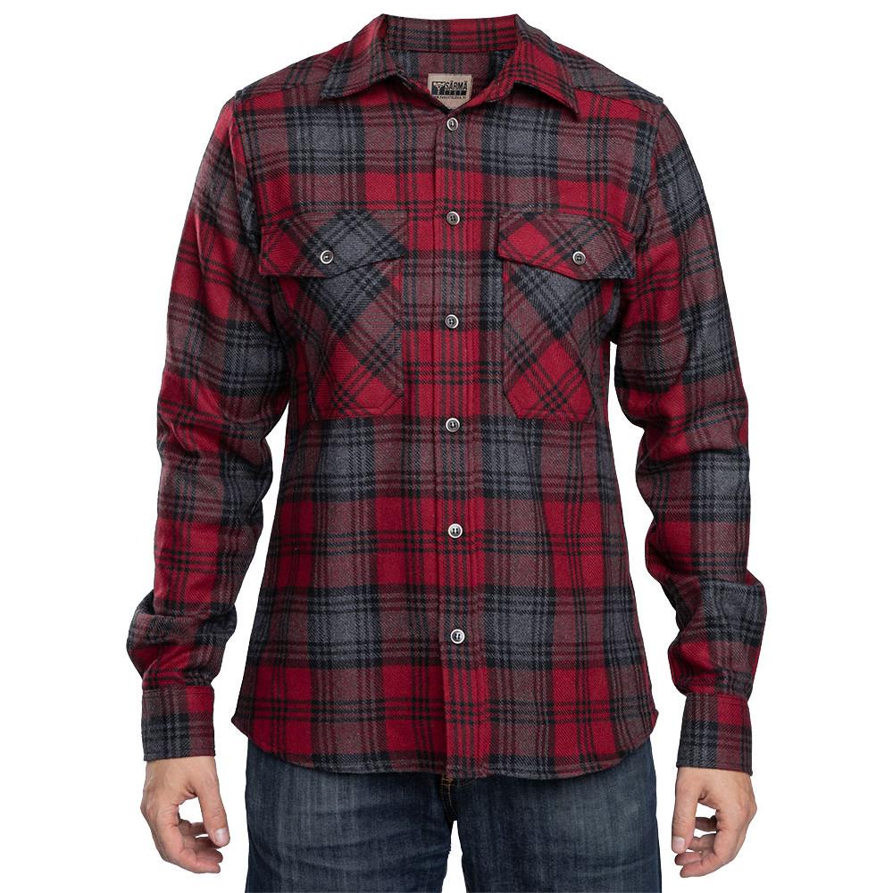 573476a92344 Särmä Wool Flannel Shirt - Varusteleka.com