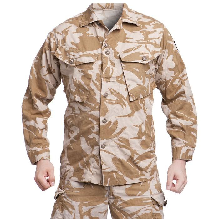 British CS95 field shirt, Desert DPM, surplus