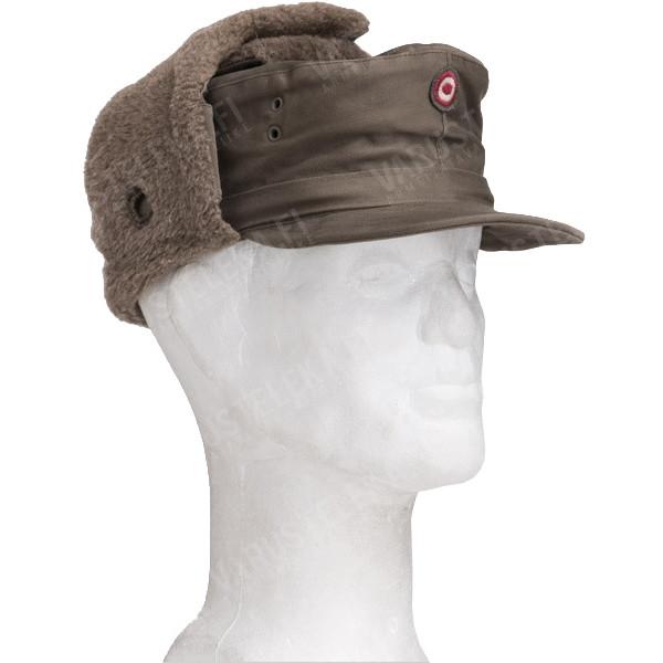 f9734591e4a955 Austrian field cap, winter model, surplus - Varusteleka.com