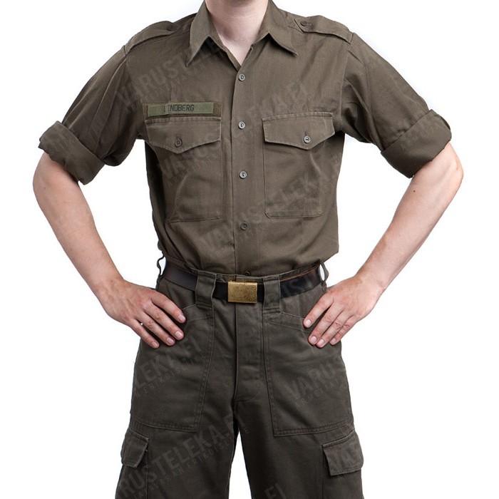 caec1dd2 Austrian service shirt, olive drab, surplus - Varusteleka.com